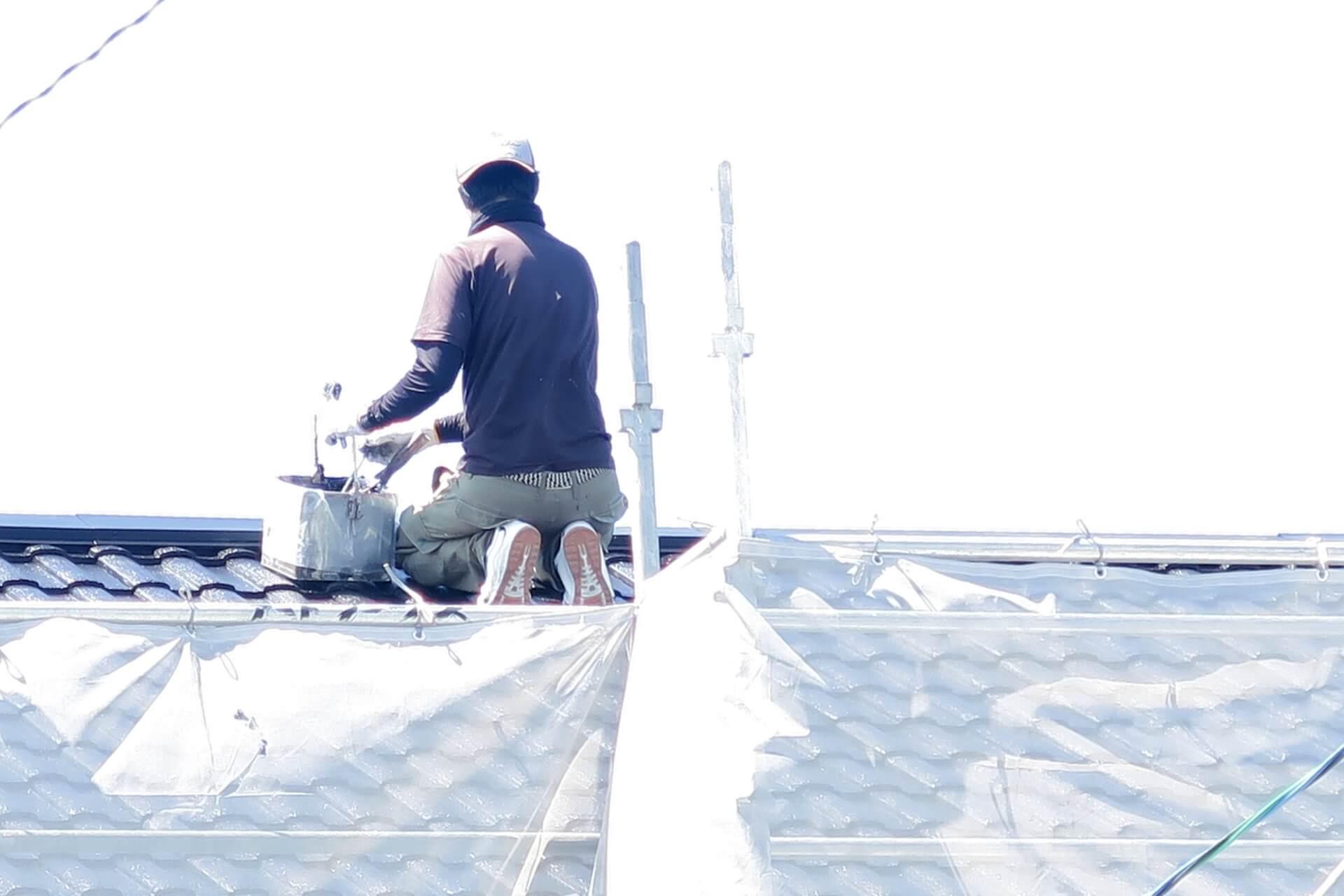 屋根塗り替え自己負担