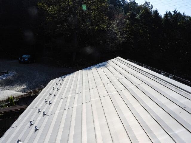 金属製屋根の場合