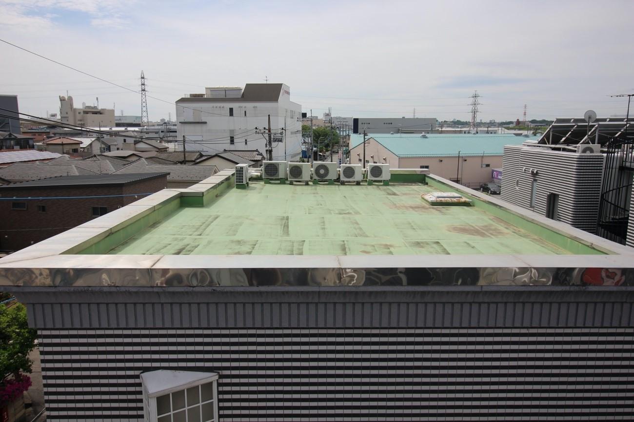 【陸屋根】