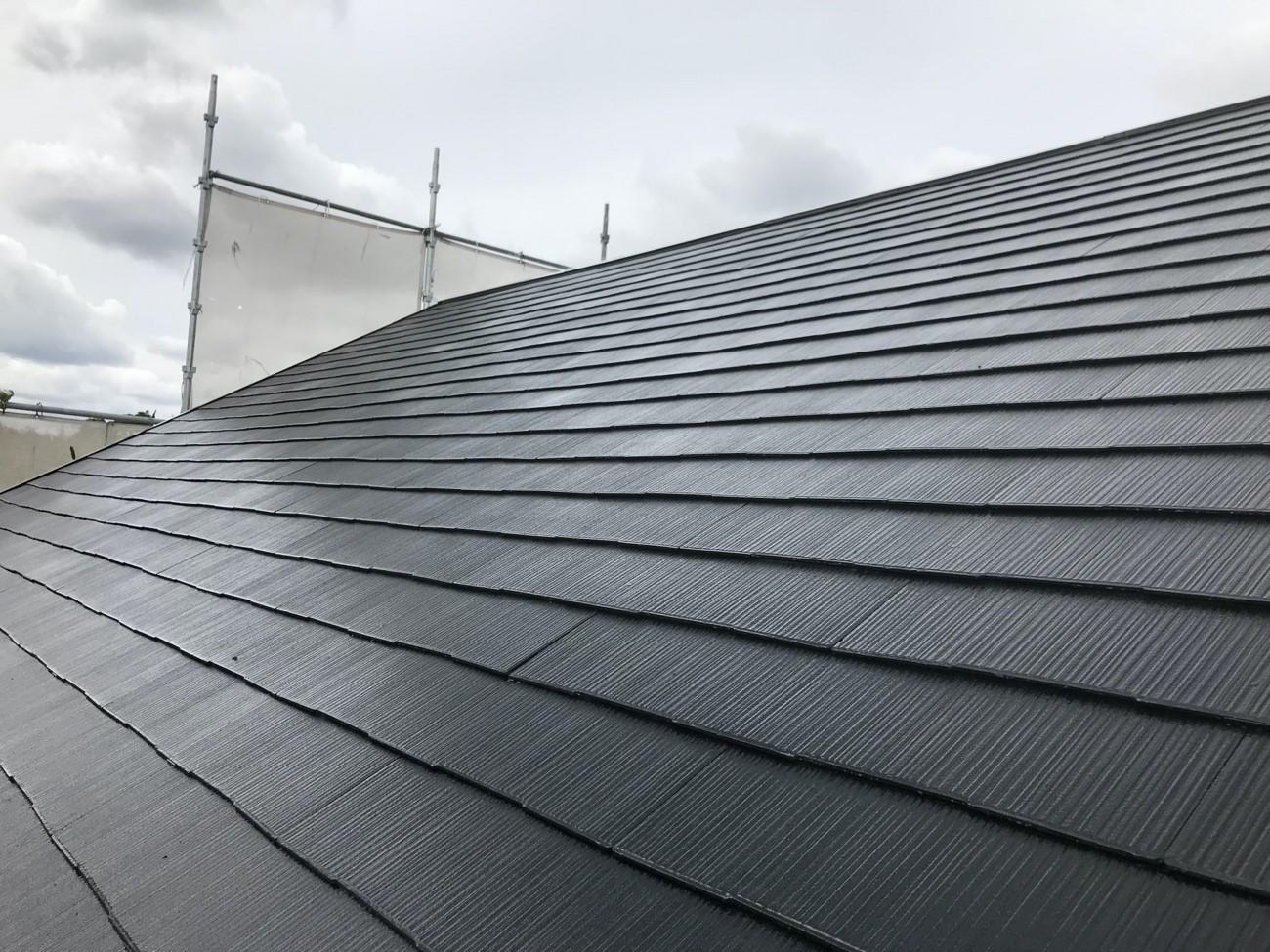 コロニアル屋根の塗装工事 価格と施工手順