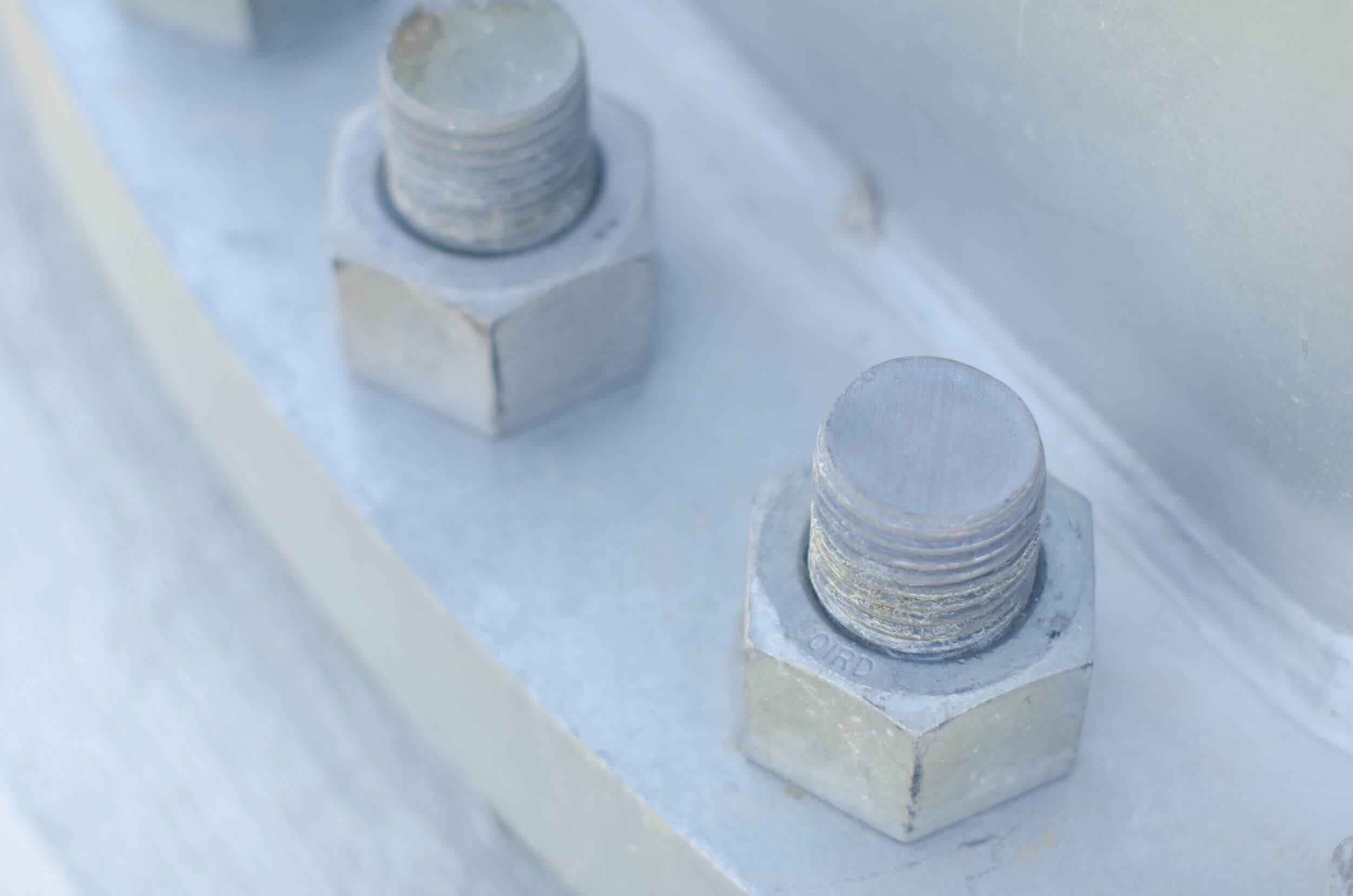 ボルト穴防水