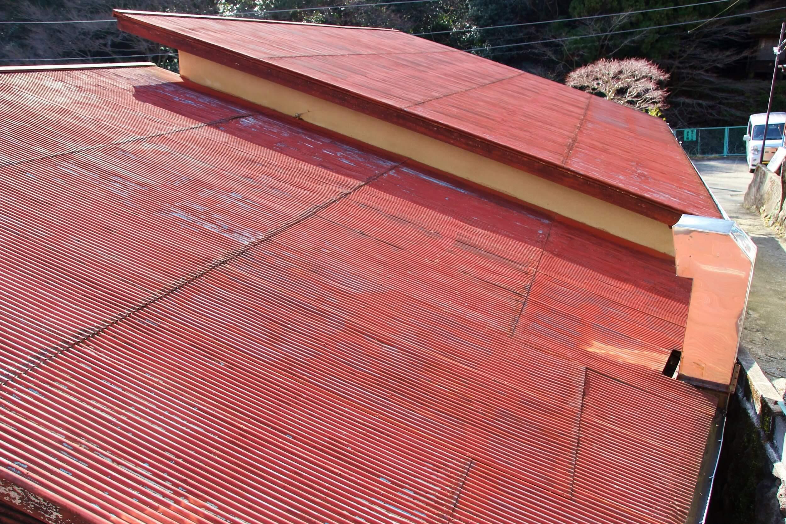 トタン屋根の腐食