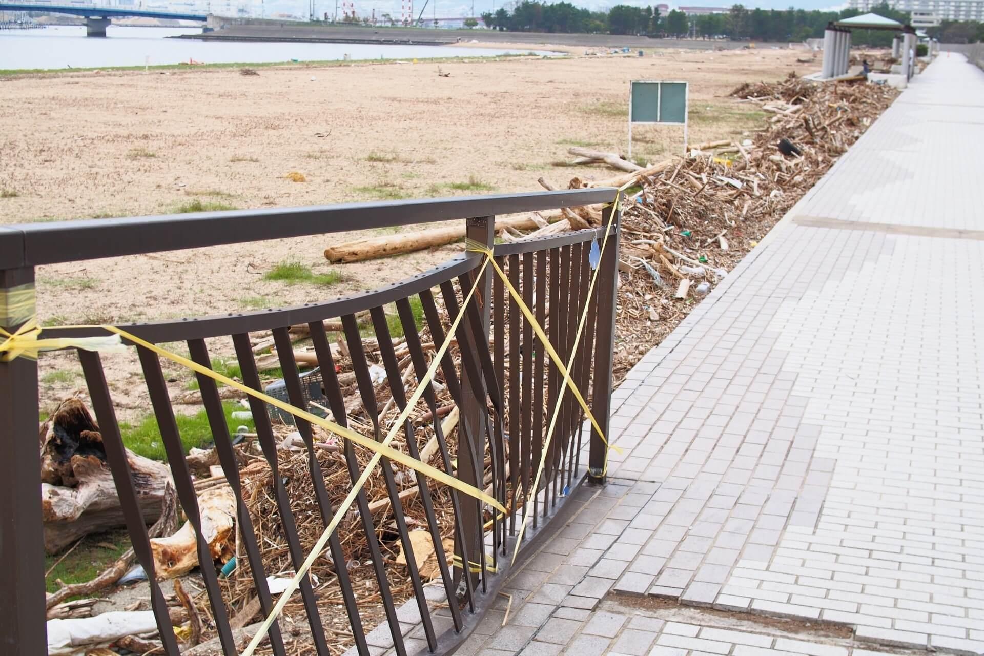 フェンスの損傷の原因