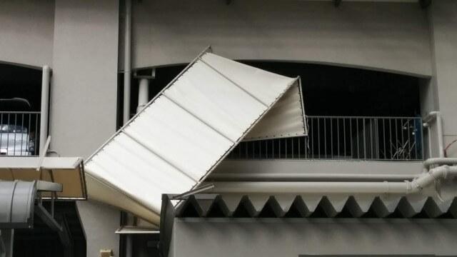 台風による損傷と修理の注意点