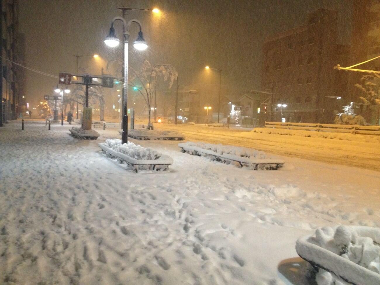 【雪が多い地域】