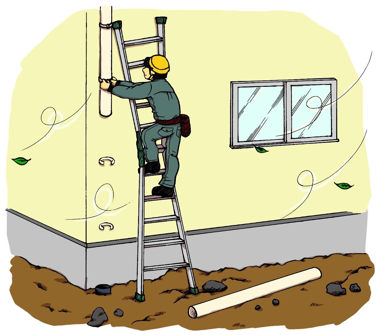 自分でできる樋の掃除とつまりの解消