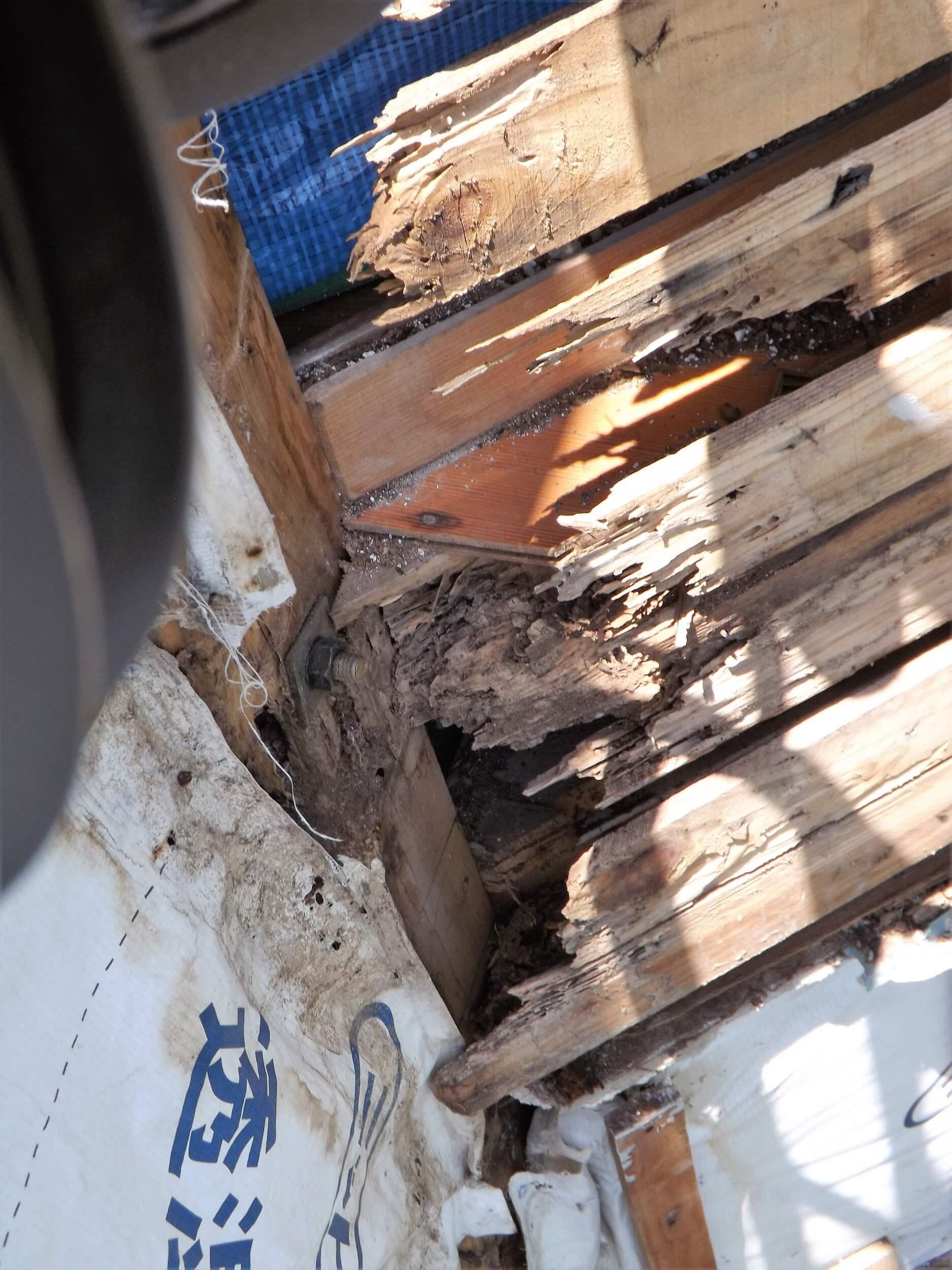 建物の耐久性を奪う腐れや錆