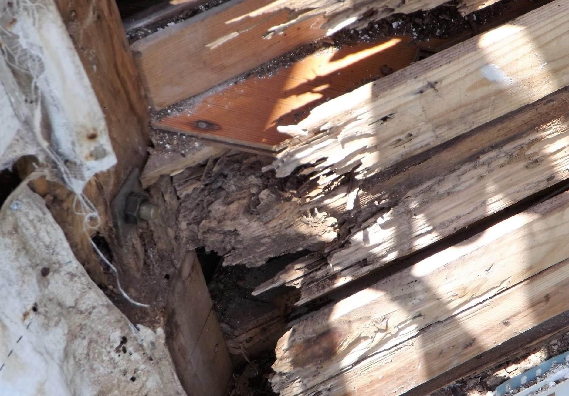 建物の寿命を縮める腐れや錆