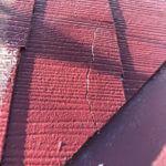 千葉県市川市で棟鉄板・カラーベスト補修/塗装