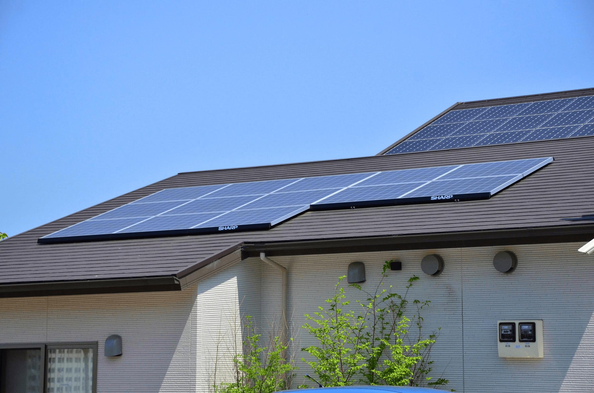 太陽光の設置に注意
