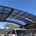 岐阜県美濃加茂市でカーポート屋根補修
