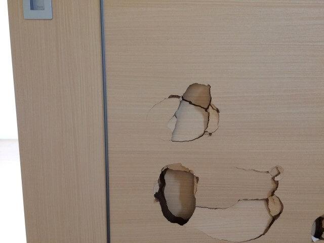 建具キズ補修DIY方法!損傷具合に合わせた3つの補修を解説