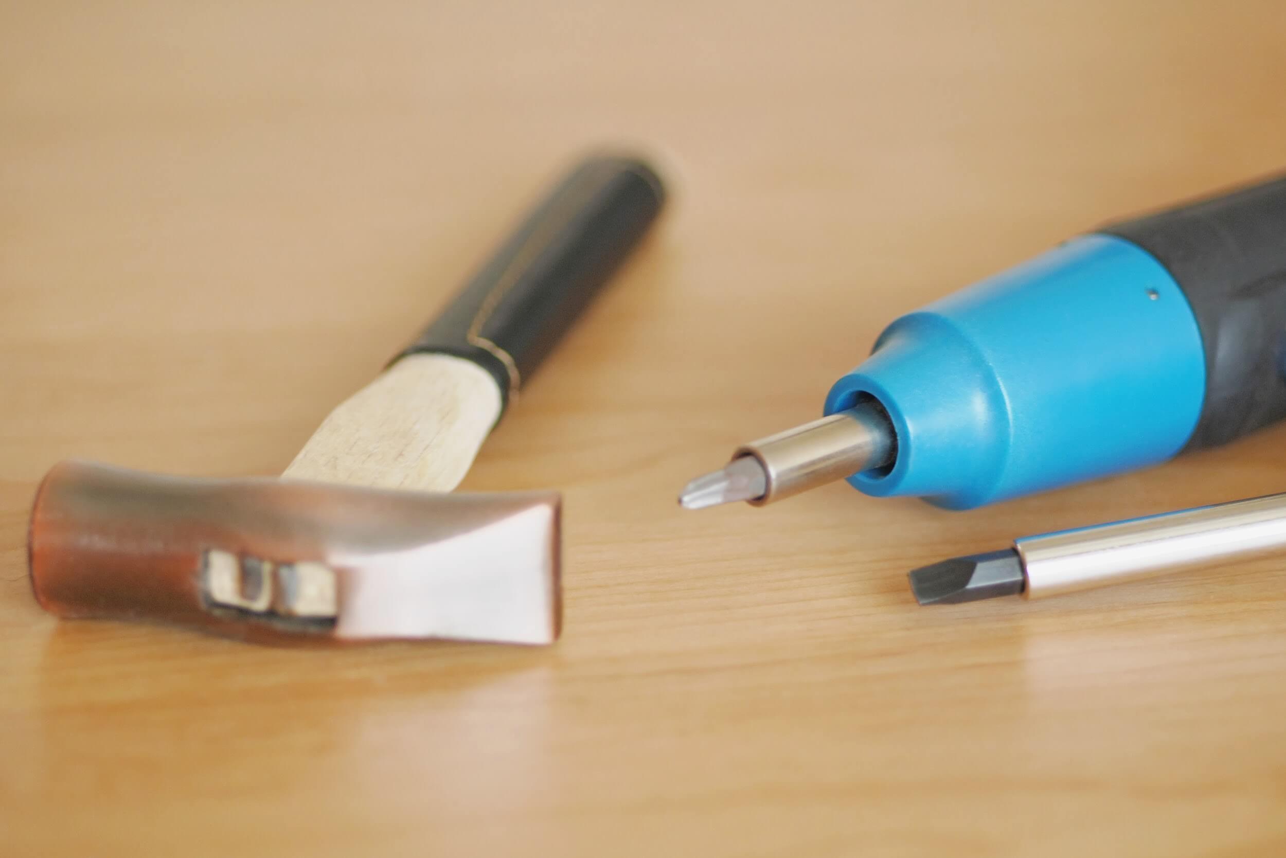 柱の傷のDIY補修方法