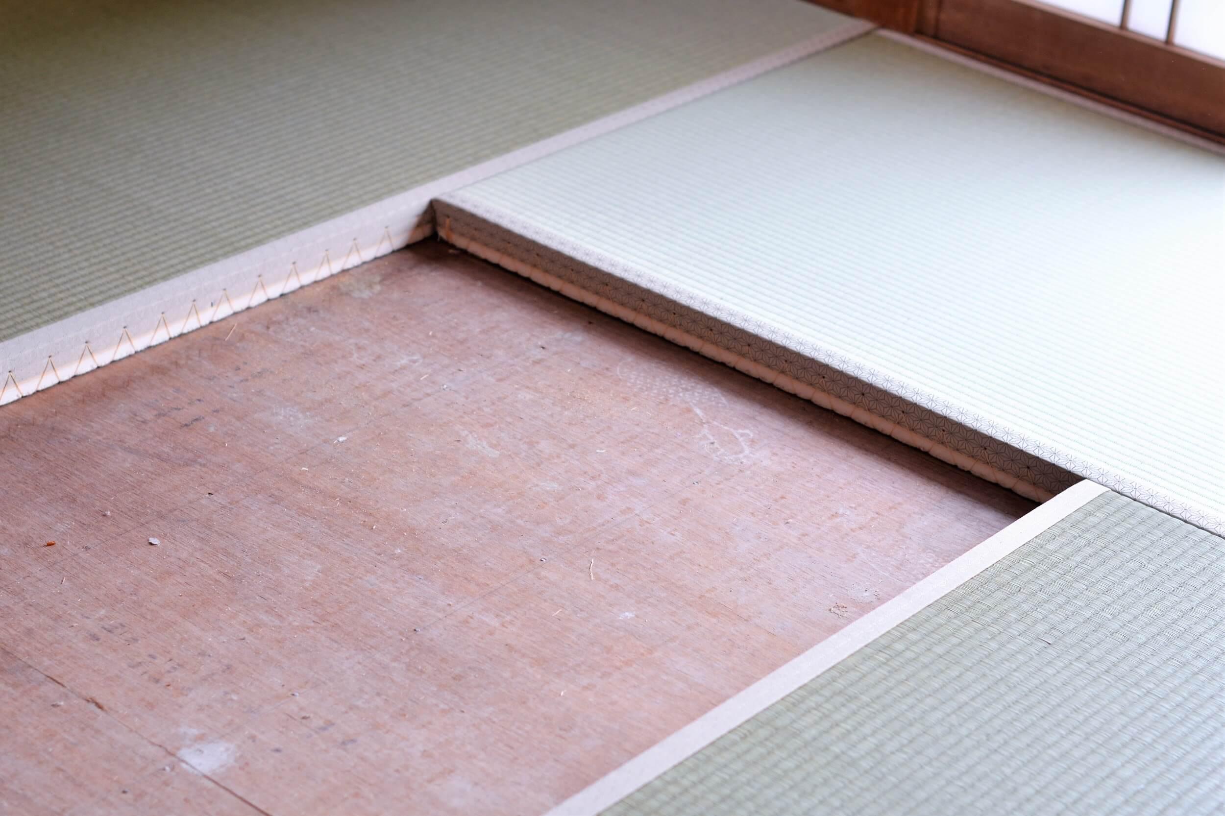 和室の畳をフローリングへ張り替え