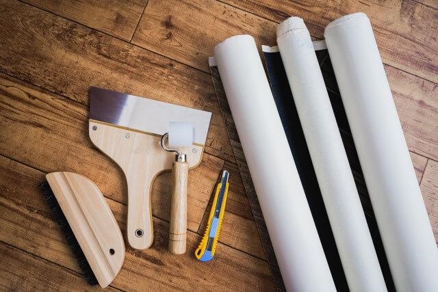 補修用壁紙の探し方