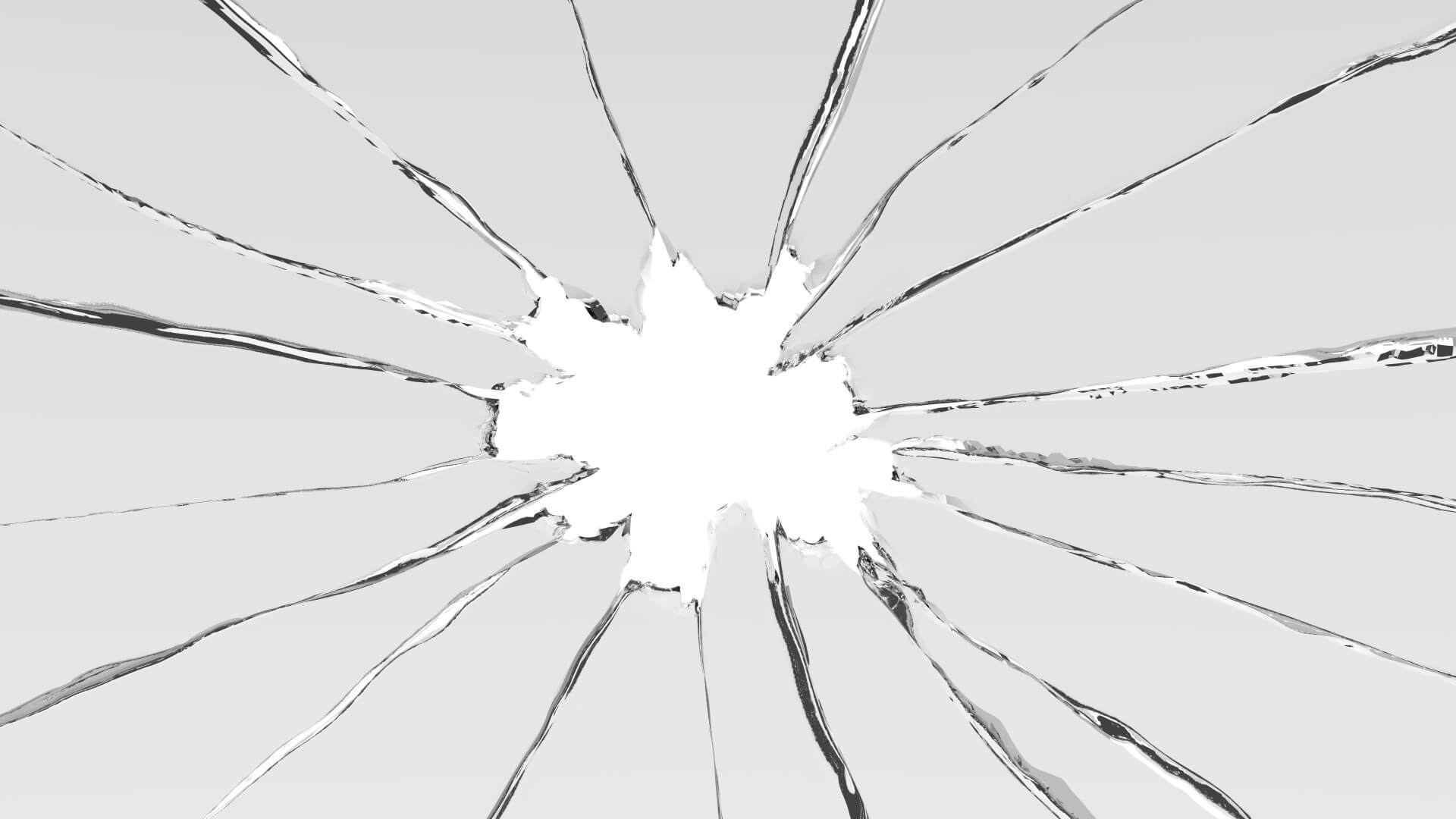 ドアのガラス破損を放置するのは危険